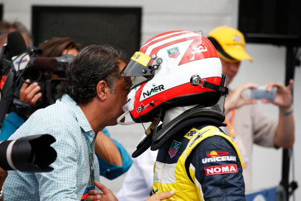 2014 GP2 Series Round 7. Hungaroring, Budapest, Hungary. Sunday 27 July 2014. Felipe Nasr (BRA, Carlin)  Photo: Sam Bloxham/GP2 Series Media Service. ref: Digital Image _W2Q1540
