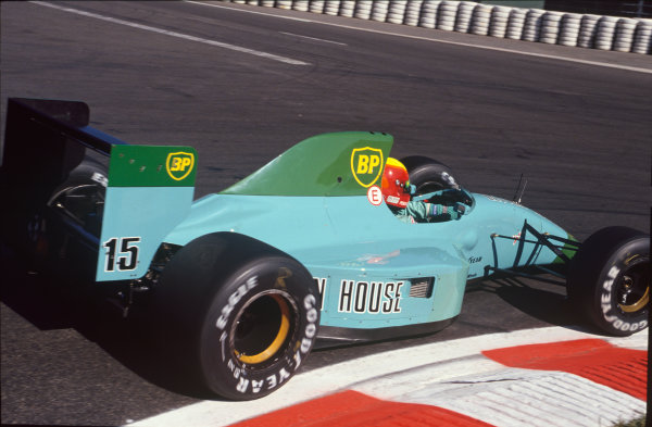 Spa-Francorchamps, Belgium. 23rd - 25th August 1991.Mauricio Gugelmin (Leyton House CG911-Ilmor), retired, action. World Copyright: LAT Photographic.Ref:  91BEL