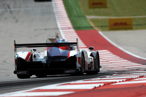 2017 FIA World Endurance Championship, COTA, Austin, Texas, USA. 14th-16th September 2017, #8 Toyota Gazoo Racing Toyota TS050-Hybrid: Sebastien Buemi, Anthony Davidson, Kazuki Nakajima  World Copyright. May/JEP/LAT Images