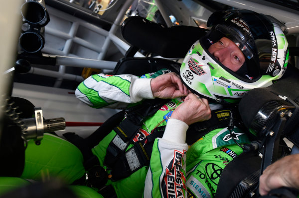 Monster Energy NASCAR Cup Series Bank of America 500 Charlotte Motor Speedway, Concord, NC USA Friday 6 October 2017 Kyle Busch, Joe Gibbs Racing, Interstate Batteries Toyota Camry World Copyright: Nigel Kinrade LAT Images