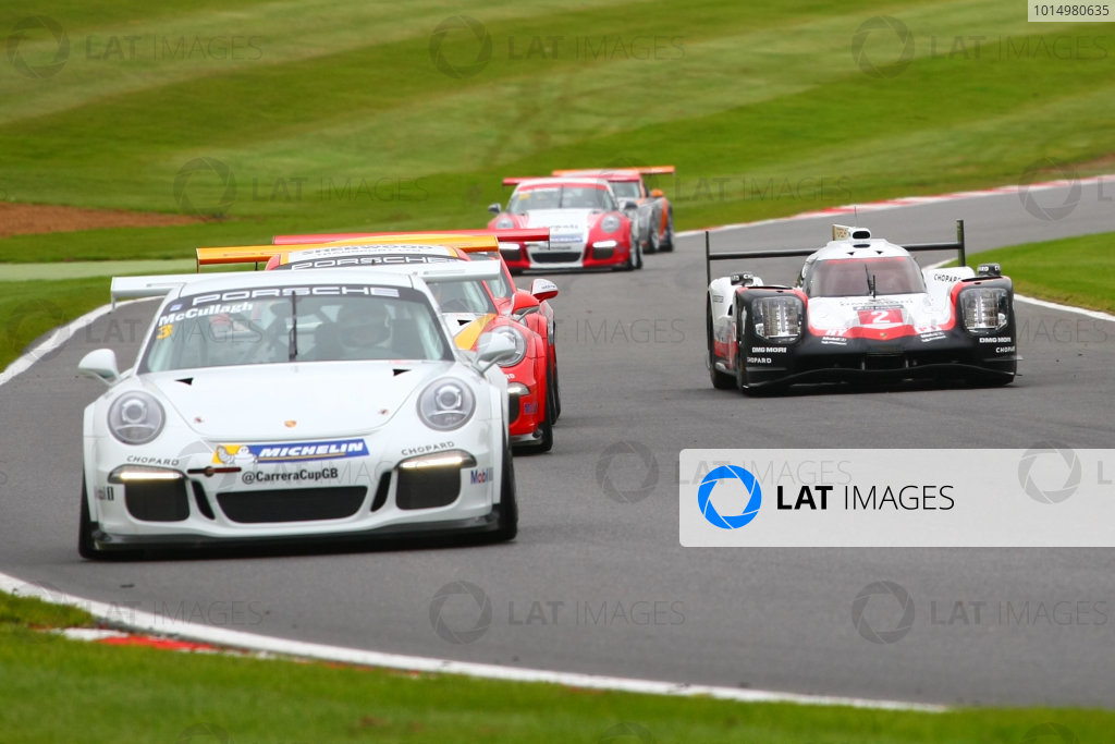 2017 Porsche Carrera Cup GB Brands Hatch, Kent. 30th September - 1st October 2017, Nick Tandy - Porsche 919 World copyright. JEP/LAT Images