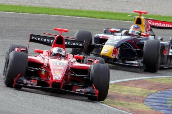 Makus Niemela (FIN) BCN Competition   GP2 Series, Rd 11, Race One, Valencia, Spain, Saturday 29 September 2007.