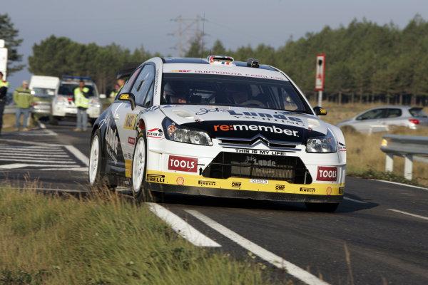 Round 11 Rally Catalunya 01-04 October 2009Petter Solberg, Citroen, ActionWorldwide Copyright: McKlein/LAT