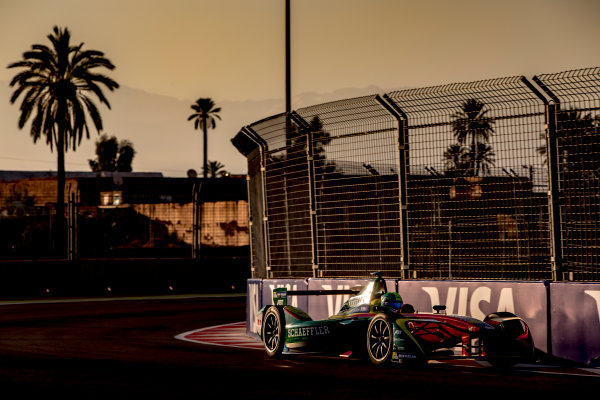 2016/2017 FIA Formula E Championship. Marrakesh ePrix, Circuit International Automobile Moulay El Hassan, Marrakesh, Morocco. Saturday 12 November 2016. Lucas Di Grassi (BRA), ABT Schaeffler Audi Sport, Spark-Abt Sportsline, ABT Schaeffler FE02.  Photo: Zak Mauger/LAT/Formula E ref: Digital Image _X0W5340