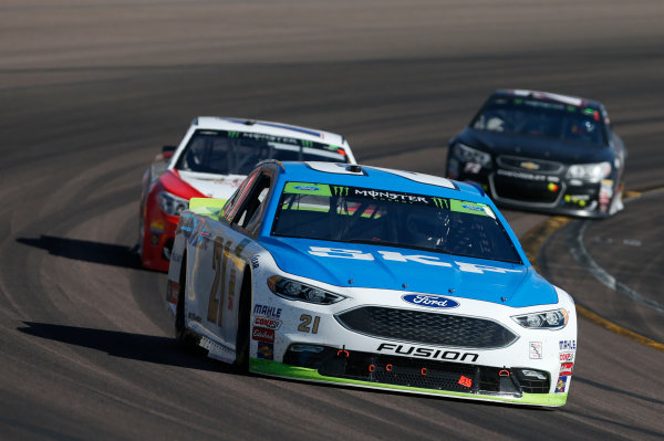 Monster Energy NASCAR Cup Series Can-Am 500 Phoenix Raceway, Avondale, AZ USA Sunday 12 November 2017 Ryan Blaney, Wood Brothers Racing, SKF / Quick Lane Tire & Auto Center Ford Fusion World Copyright: Matthew T. Thacker LAT Images