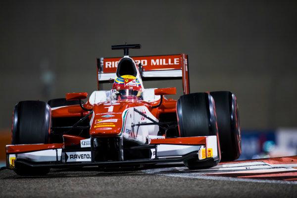 2017 FIA Formula 2 Round 11. Yas Marina Circuit, Abu Dhabi, United Arab Emirates. Friday 24 November 2017.Charles Leclerc (MCO, PREMA Racing).  Photo: Sam Bloxham/FIA Formula 2. ref: Digital Image _W6I2498