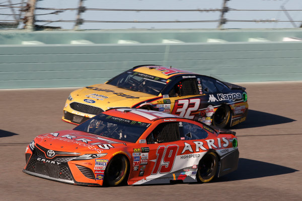 Monster Energy NASCAR Cup Series Ford EcoBoost 400 Homestead-Miami Speedway, Homestead, FL USA Sunday 19 November 2017 Daniel Suarez, Joe Gibbs Racing, ARRIS Toyota Camry World Copyright: Matthew T. Thacker LAT Images