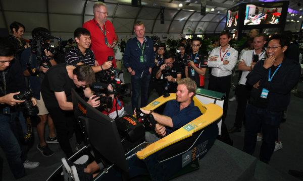 2017/2018 FIA Formula E Championship. Round 1 - Hong Kong, China. Saturday 02 December 2017. Nico Rosberg Photo: Sam Bagnall/LAT/Formula E ref: Digital Image SB1_6100
