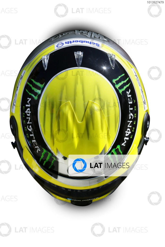 2013 F1 Helmets