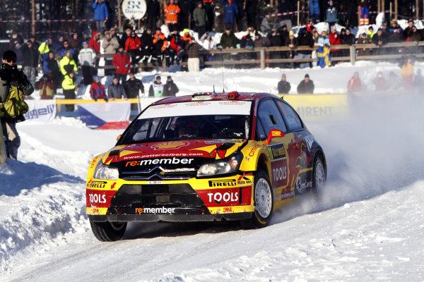 2010 FIA World Rally ChampionshipRound 01Rally Sweden 11-14 February 2010Petter Solberg, Citroen WRC, ActionWorldwide Copyright: McKlein/LAT
