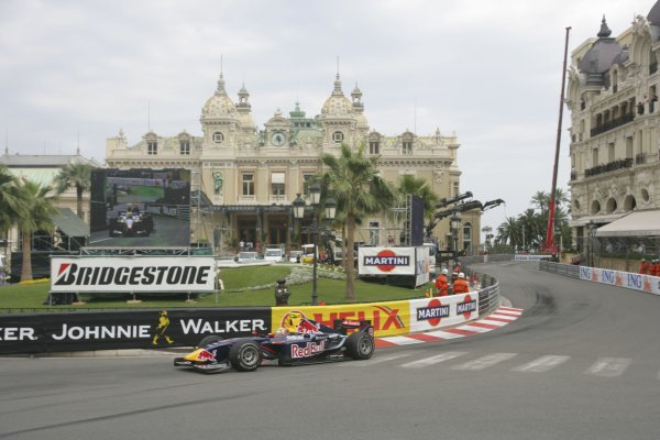 2007 GP2 Series. Round 3. Saturday Race.Monte-Carlo, Monaco. 26th May 2007.Adrian Zaugg (RSA, Arden International). Action. World Copyright: Andrew Ferraro/GP2 Series Media Service ref: Digital ImageZP9O1081
