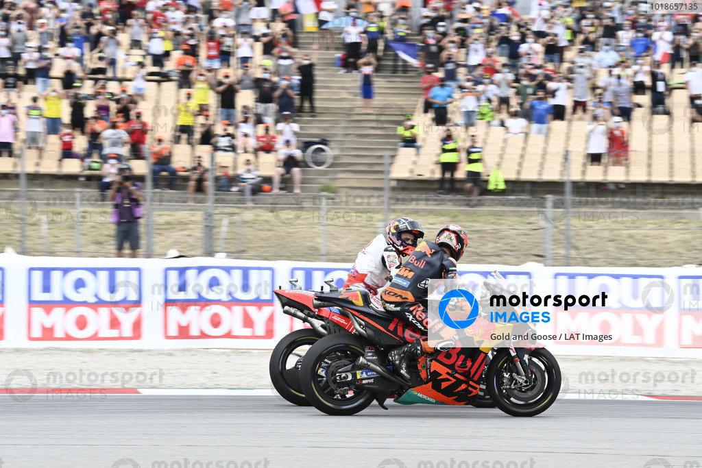 Johann Zarco, Pramac Racing, Brad Binder, Red Bull KTM Factory Racing.