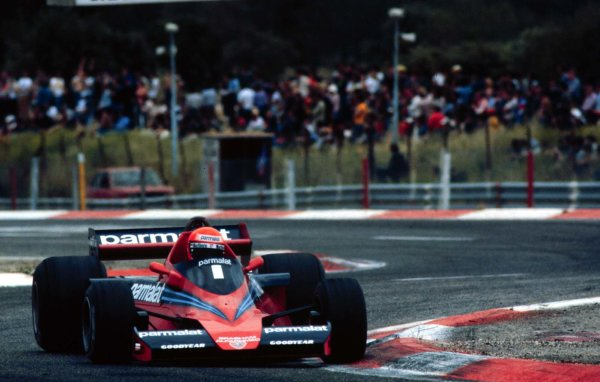 1978 French Grand Prix.Paul Ricard, Le Catellet, France.30/6-2/7 1978.Niki Lauda (Brabham BT46 Alfa Romeo). He exited the race due to engine problems.World Copyright - LAT Photographic