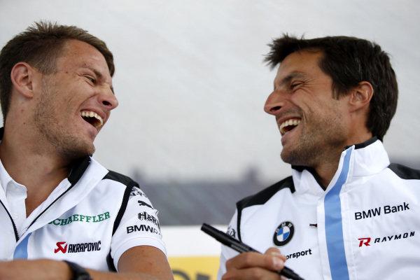 Marco Wittmann, BMW Team RMG, Bruno Spengler, BMW Team RMG.