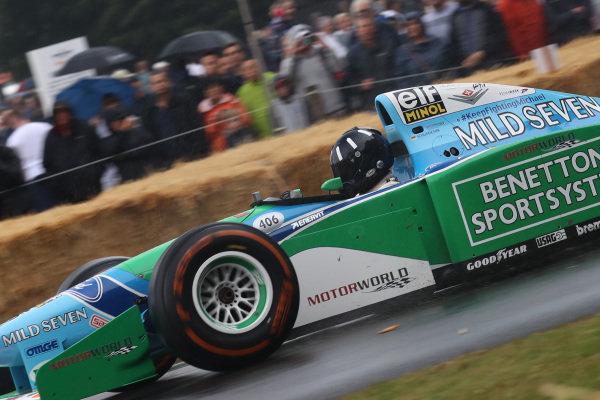 Damon Hill (GBR) Benetton