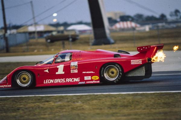 Bill Whittington / Randy Lanier / Al Leon, Leon Brothers Racing, March 85G Porsche.