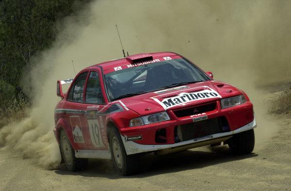2001 World Rally ChampionshipCyprus Rally, June 1-3, 2001Taguchi during the shakedownPhoto: Ralph Hardwick/LAT