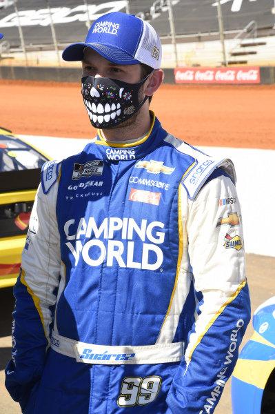 #99: Daniel Suarez, TrackHouse Racing, Chevrolet Camaro Camping World