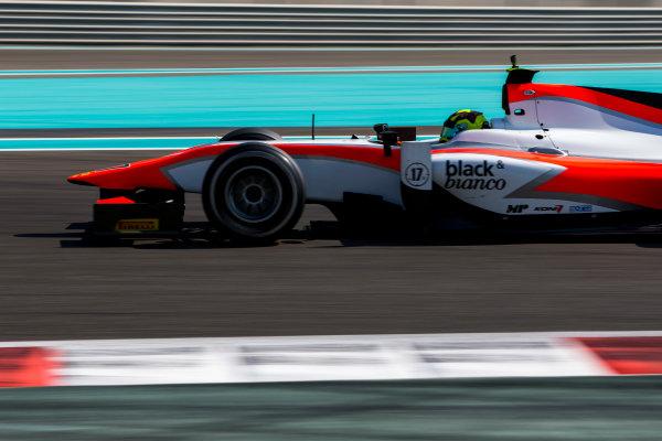 2015 GP2 Series Test 3. Yas Marina Circuit, Abu Dhabi, United Arab Emirates. Thursday 3 December 2015. Nick Yelloly (GBR, MP Motorsport). World Copyright: Zak Mauger/LAT Photographic. ref: Digital Image _L0U2087