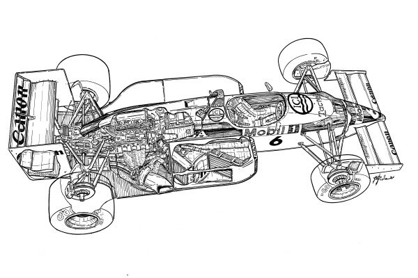 Williams FW11 1986 detailed overview