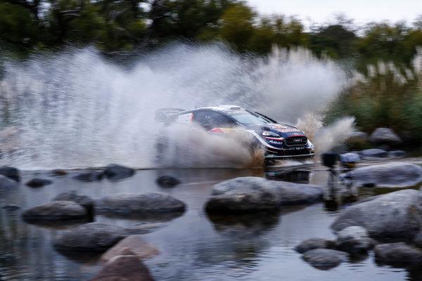 Teemu Suninen makes a splash on Rally Argentina