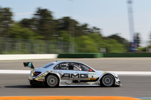 Jamie Green (GBR), AMG Mercedes.