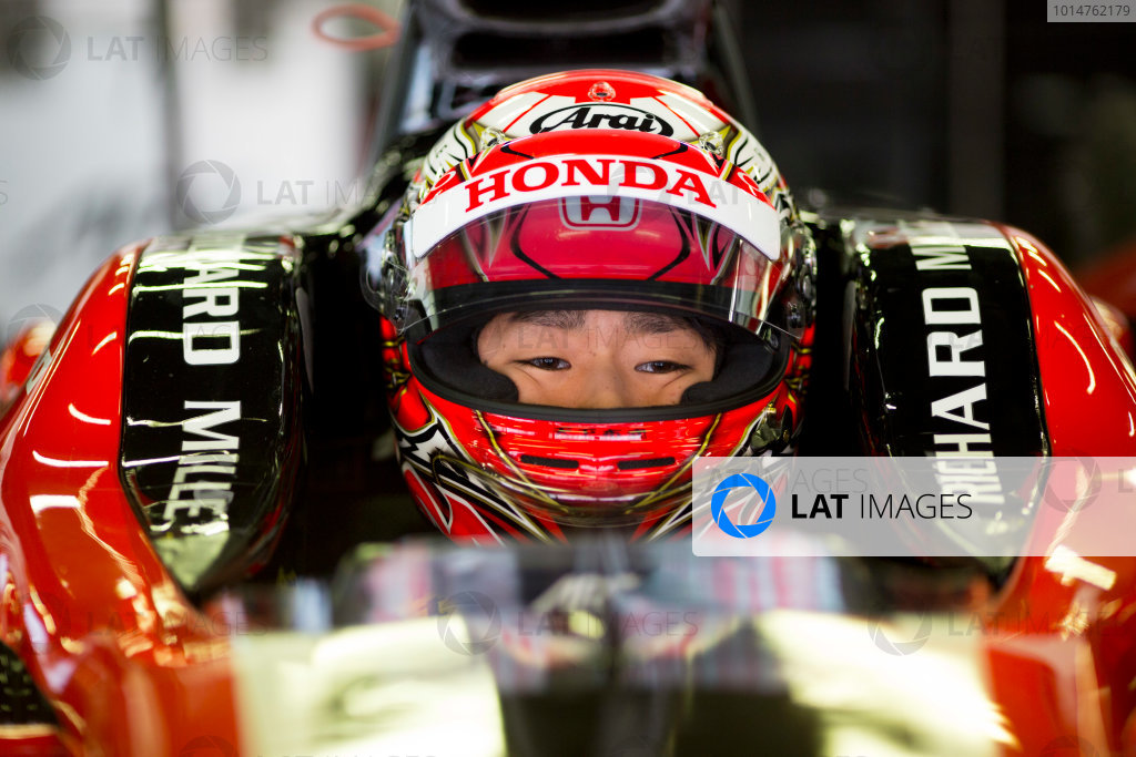 Circuit de Barcelona Catalunya, Barcelona, Spain. Monday 13 March 2017. Nobuharu Matsushita (JPN, ART Grand Prix). Photo: Alastair Staley/FIA Formula 2 ref: Digital Image 580A9015