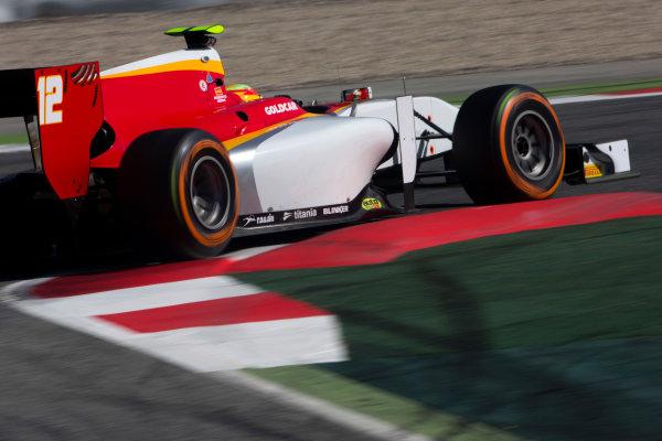 Circuit de Barcelona Catalunya, Barcelona, Spain. Tuesday 14 March 2017. Roberto Merhi (ESP, Campos Racing). Action.  Photo: Alastair Staley/FIA Formula 2 ref: Digital Image 585A8170