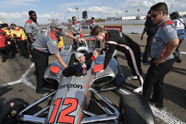 Will Power, Team Penske Chevrolet, Josef Newgarden, Team Penske Chevrolet, NTT P1 Award