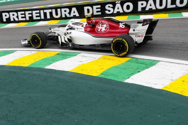 Charles Leclerc, Sauber C37 Ferrari.
