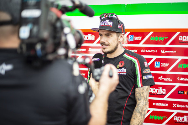 Scott Redding, Aprilia Racing Team Gresini, TV.