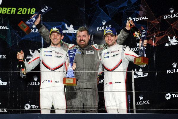 GT Pro Winners - #92 Porsche GT Team Porsche 911 RSR: Michael Christensen, Kevin Estre