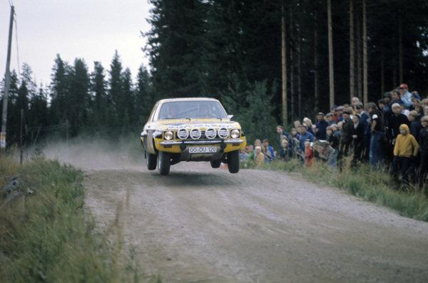 Anders Kulläng / Claes-Göran Andersson, Opel Ascona.