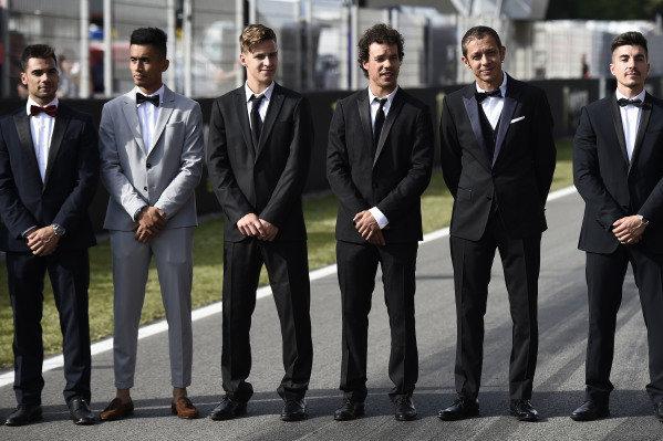 Fabio Quartararo, Petronas Yamaha SRT, Franco Morbidelli, Petronas Yamaha SRT, Valentino Rossi, Yamaha Factory Racing