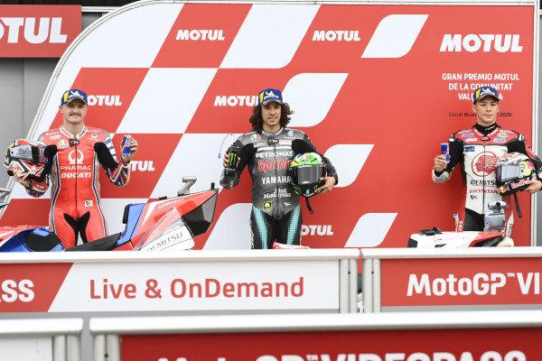 Jack Miller, Pramac Racing, Franco Morbidelli, Petronas Yamaha SRT, Takaaki Nakagami, Team LCR Honda.