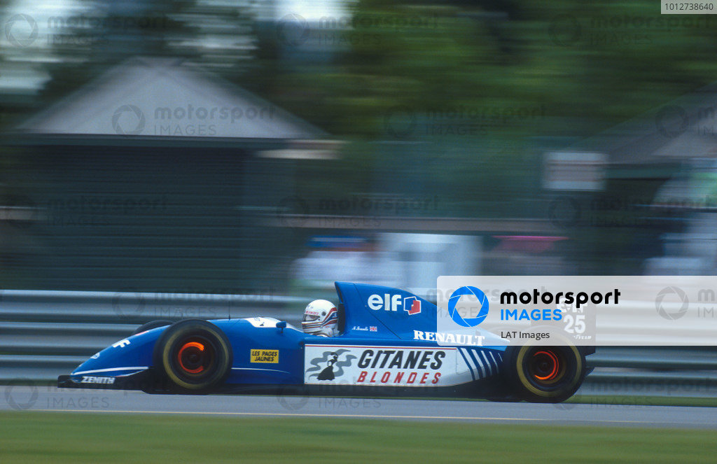 1993 Canadian Grand Prix.