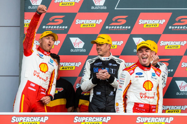 Alexandre Premat, Scott McLaughlin,  DJR Team Penske Ford