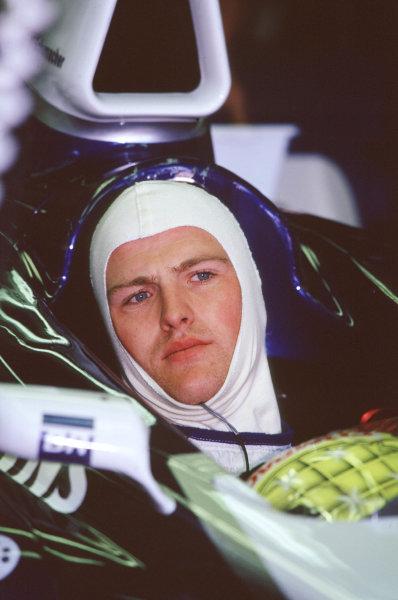 2001 Canadian Grand PrixMontreal, Canada. 8th-10th June 2001Race winner Ralf Schumacher, BMW Williams FW23, portrait.World Copyright: LAT Photographicref: 35mm Image A03