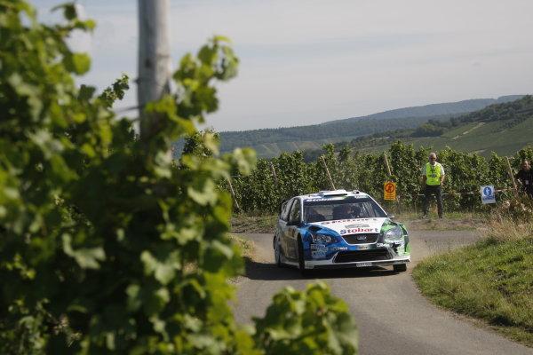 Round 10Rally Deutschland 200814th-17th August 2008Gigi Galli, Ford, actionWorldwide Copyright: McKlein/LAT
