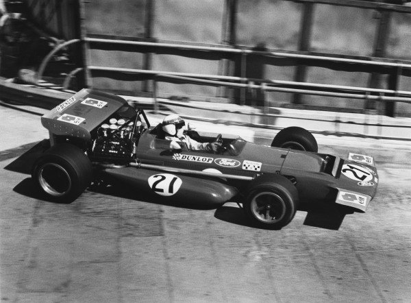 Monte Carlo, Monaco. 7 - 10 May 1970.Jackie Stewart (March 701-Ford), retired, action. World Copyright: LAT Photographic.Ref:  3061 - 10A.