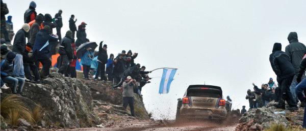 Sebastien Ogier (FRA) / Julien Ingrassia (FRA), Volkswagen Polo R WRC. FIA World Rally Championship, Rd5, Rally Argentina, Day Three, Cordoba-Villa Carlos Paz, Argentina, 11 May 2014.