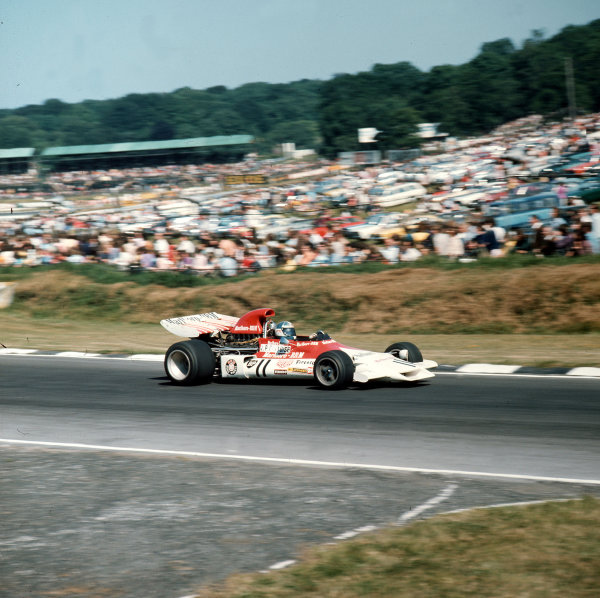 Brands Hatch, England. 13-15 July 1972.Jean-Pierre Beltoise (BRM P160C). Ref-3/5100D.World Copyright - LAT Photographic