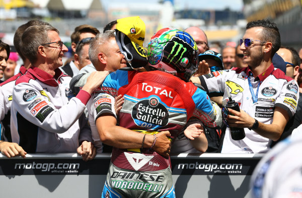 2017 Moto2 Championship - Round 5 Le Mans, France Sunday 21 May 2017 Winner Franco Morbidelli, Marc VDS World Copyright: Gold & Goose Photography/LAT Images ref: Digital Image 671681