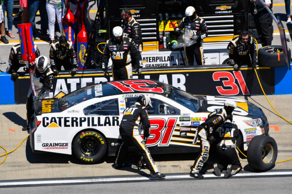 Monster Energy NASCAR Cup Series GEICO 500 Talladega Superspeedway, Talladega, AL USA Sunday 7 May 2017 Ryan Newman, Richard Childress Racing, Caterpillar Chevrolet SS World Copyright: Nigel Kinrade LAT Images ref: Digital Image 17TAL1nk05966