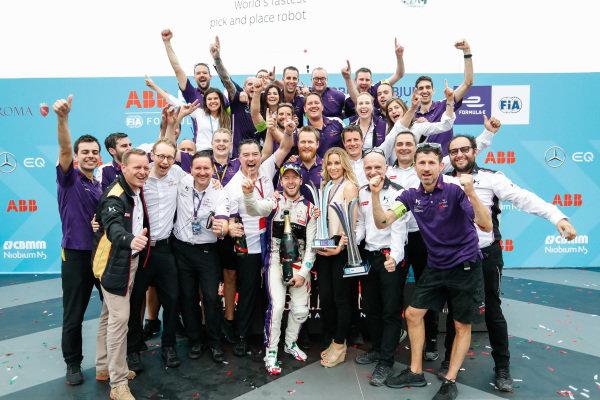 Sam Bird (GBR), DS Virgin Racing, DS Virgin DSV-03, wins the Rome ePrix.