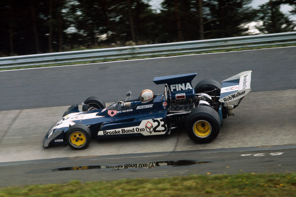 1973 German Grand Prix.  Nurburgring, Germany. 3-5th August 1973.  Mike Hailwood, Surtees TS14A Ford.  Ref: 73GER33. World Copyright: LAT Photographic