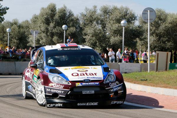 2013 FIA World Rally Championship Round 12 - Rally de Espana 24-27/10 2013. Mads Ostberg, Ford, action  Worldwide Copyright: McKlein/LAT