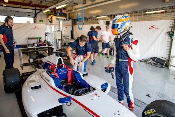 2016 GP3 Series Test 5. Yas Marina Circuit, Abu Dhabi, United Arab Emirates. Friday 2 December 2016. Tarun Reddy (IND, Koiranen GP)  Photo: Zak Mauger/GP3 Series Media Service. ref: Digital Image _X0W3500