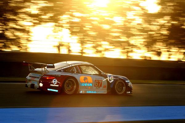 Circuit de La Sarthe, Le Mans, France. 13th - 17th June 2012. RaceAnthony Pons/Raymond Narac/Nicolas Armindo, IMSA Performance Matmut, No 67 Porsche 911 RSR (997). Photo: Jeff Bloxham/LAT Photographic. ref: Digital Image DSC_4012