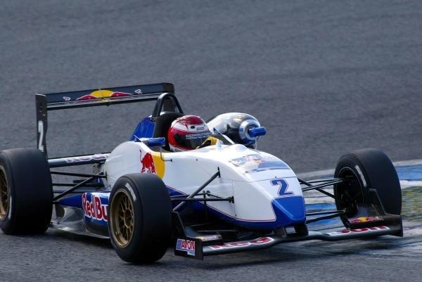 John Edwards (USA).Red Bull US Driver Search, Estoril, Portugal, 12-13 October 2004.DIGITAL IMAGE